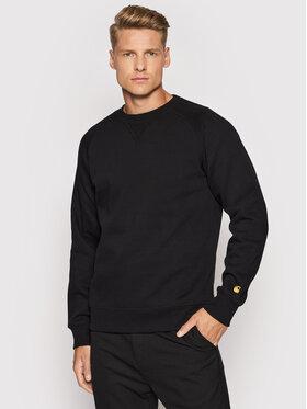 Carhartt WIP Carhartt WIP Bluză Chase I024652 Negru Regular Fit