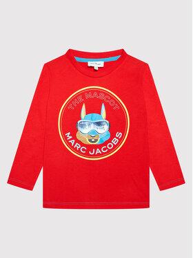 Little Marc Jacobs Little Marc Jacobs Блуза W25515 M Червен Regular Fit