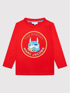 Little Marc Jacobs Little Marc Jacobs Halenka W25515 M Červená Regular Fit