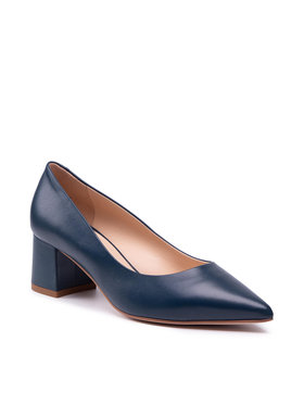 Solo Femme Solo Femme Pantofi 48901-01-K13/000-04-00 Bleumarin