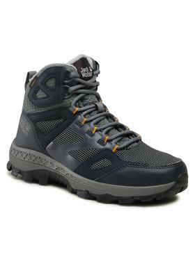 Jack Wolfskin Jack Wolfskin Chaussures de trekking Downhill Texapore Mid W 4044141 Bleu marine