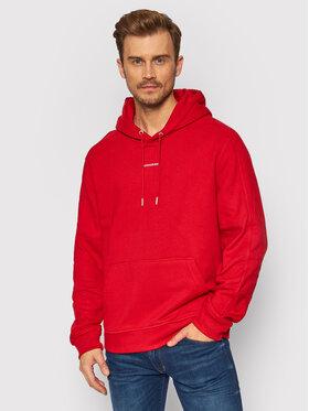Calvin Klein Jeans Calvin Klein Jeans Sweatshirt J30J317388 Rot Relaxed Fit