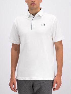 Under Armour Under Armour Polo marškinėliai UA Tech 1290140 Balta Regular Fit