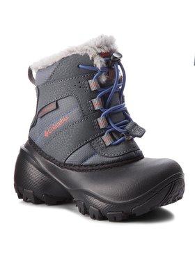 Columbia Columbia Śniegowce Childrens Rope Tow III Waterproof BC1323 Szary