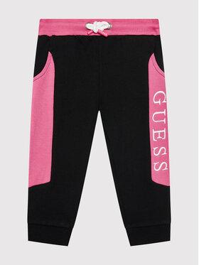 Guess Guess Pantaloni trening H1YT06 KAD70 Negru Regular Fit