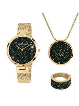 Jacques Lemans Jacques Lemans Geschenkset Jewellery Set 1-2035L-SET56 Goldfarben
