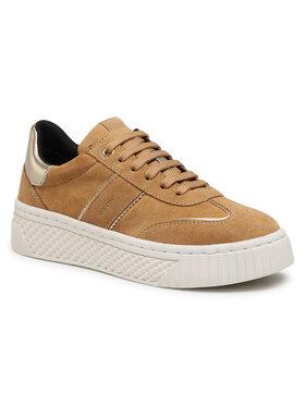 Geox Geox Sneakersy D Licena B D04HSB 022NF C5FB5 Hnedá
