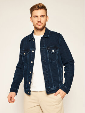 Tommy Jeans Tommy Jeans Giacca di jeans Trucker DM0DM09336 Blu scuro Regular Fit