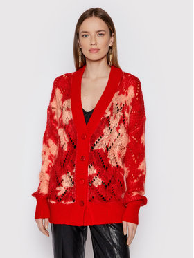 TwinSet TwinSet Cardigan 212TP3551 Rouge Loose Fit
