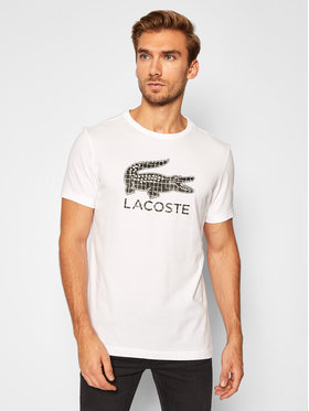 Lacoste Lacoste T-Shirt TH2090 Weiß Regular Fit