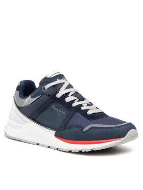 Pepe Jeans Pepe Jeans Sneakersy X20 Basic Half PMS30782 Tmavomodrá