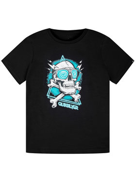 Quiksilver Quiksilver T-Shirt The Full EQBZT04141 Μαύρο Regular Fit