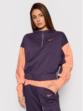 Nike Nike Sweatshirt Icon Clash Mix CZ8164 Violett Oversized Fit