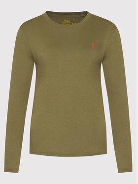 Polo Ralph Lauren Polo Ralph Lauren Bluse Lsl 211847074007 Grün Regular Fit