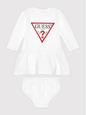Guess Guess Vestito da giorno A93K19 KAUD0 Bianco Regular Fit