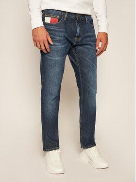 Tommy Jeans Tommy Jeans Prigludę (Slim Fit) džinsai DM0DM08221 Tamsiai mėlyna Slim Fit