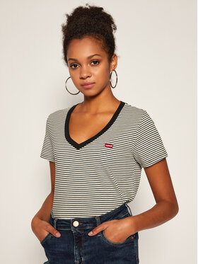 Levi's® Levi's® T-Shirt Perfect V-Neck Tee 85341-0004 Barevná Regular Fit