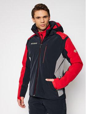 Descente Descente Skijacke Reing DWMQGK07 Schwarz Tailored Fit