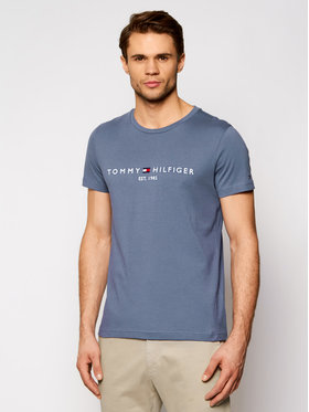Tommy Hilfiger Tommy Hilfiger T-Shirt Logo Tee MW0MW11797 Σκούρο μπλε Regular Fit