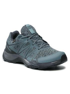 Salomon Salomon Трекінгові черевики Warra Gtx W GORE-TEX 412315 20 M0 Голубий