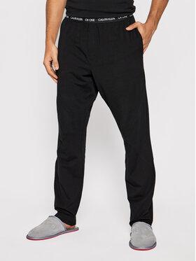 Calvin Klein Underwear Calvin Klein Underwear Teplákové kalhoty 000NM1796E Černá Regular Fit