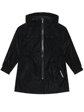 KARL LAGERFELD KARL LAGERFELD Átmeneti kabát Z16108 S Fekete Regular Fit