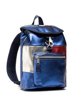 Tommy Jeans Tommy Jeans Rucksack Tjw Heritage Sm Flap AW0AW09743 Dunkelblau