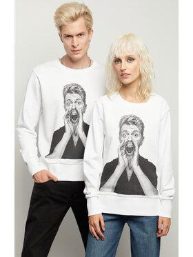 Vistula Vistula Bluza Unisex David Bowie By Evans 2 XA1332 Biały Regular Fit
