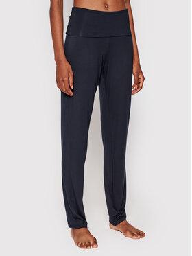 Hanro Hanro Spodnie piżamowe Yoga 7998 Czarny