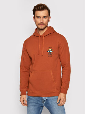 Rip Curl Rip Curl Sweatshirt Search Icon CFEGL9 Orange Regular Fit