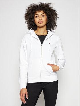 Tommy Jeans Tommy Jeans Sweatshirt Tjw Zip Through DW0DW10135 Blanc Regular Fit
