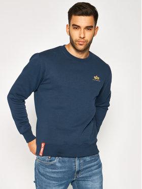 Alpha Industries Alpha Industries Sweatshirt Basic 188307 Bleu marine Regular Fit