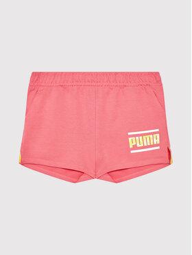 Puma Puma Sportovní kraťasy Alpha 581413 Růžová Regular Fit