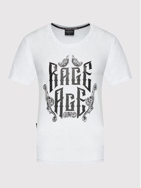 Rage Age Rage Age Tričko Eudoxa 2 Biela Regular Fit