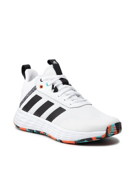adidas adidas Batai Ownthegame 2.0 K H01556 Balta