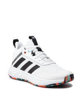 adidas adidas Buty Ownthegame 2.0 K H01556 Biały