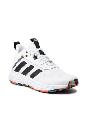 adidas adidas Pantofi Ownthegame 2.0 K H01556 Alb