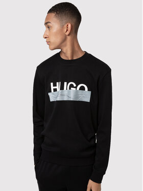 Hugo Hugo Džemperis Dicago_U204 50436126 Juoda Regular Fit