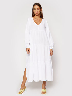 Seafolly Seafolly Robe de jour Habitat 54458 Blanc Relaxed Fit