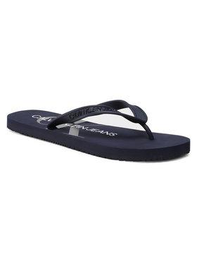 Calvin Klein Jeans Calvin Klein Jeans Flip flop Beach Sandal Monogram Tpu YM0YM00055 Bleumarin