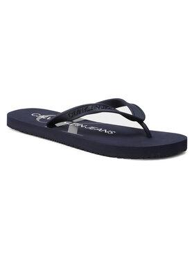 Calvin Klein Jeans Calvin Klein Jeans Flip-flops Beach Sandal Monogram Tpu YM0YM00055 Sötétkék
