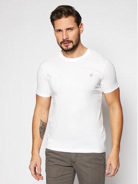 Marc O'Polo Marc O'Polo Marškinėliai B21 2220 51068 Balta Shaped Fit