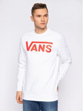 Vans Vans Mikina Classic Crew VN0A456AKSF1 Biela Regular Fit