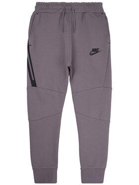 Nike Nike Teplákové nohavice Tech Fleece 804818 Sivá Slim Fit