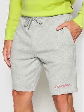 Calvin Klein Underwear Calvin Klein Underwear Szorty materiałowe 000NM2168E Szary Regular Fit