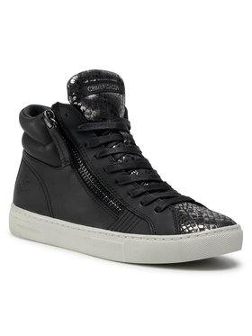 Crime London Crime London Sneakersy High Top Double Zip 25671AA3.20 Czarny