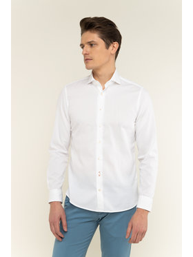 Marc O'Polo Marc O'Polo Camicia 021 7668 42348 Bianco Shaped Fit