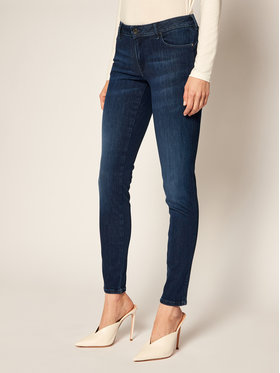 Guess Guess Skinny Fit Jeans Ultra Curve W0YA87 D42J1 Dunkelblau Skinny Fit