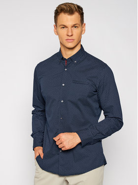 Pierre Cardin Pierre Cardin Marškiniai 5893/000/27351 Tamsiai mėlyna Modern Fit