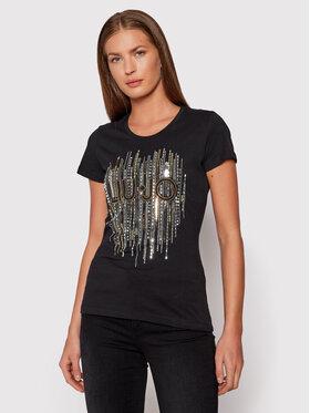 Liu Jo Liu Jo T-shirt WF1149 J5923 Crna Regular Fit
